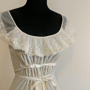 Long vintage slip or nightgown
